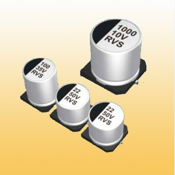 RVS Chip Aluminum Electrolytic Capacitor