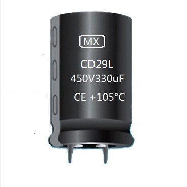 CD29L Snap In Aluminum Electrolytic Capacitor