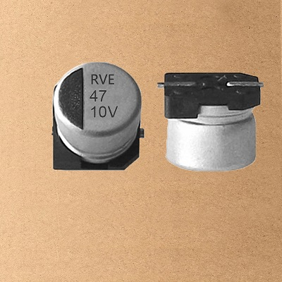 RVE Chip/SMD Aluminum Electrolytic Capacitor