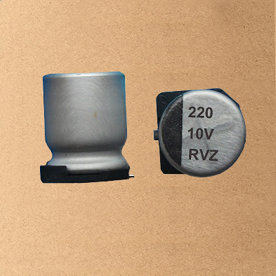 RVZ Chip/SMD Aluminum Electrolytic Capacitor
