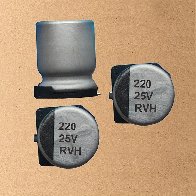 RVH Chip/SMD Aluminum Electrolytic Capacitor